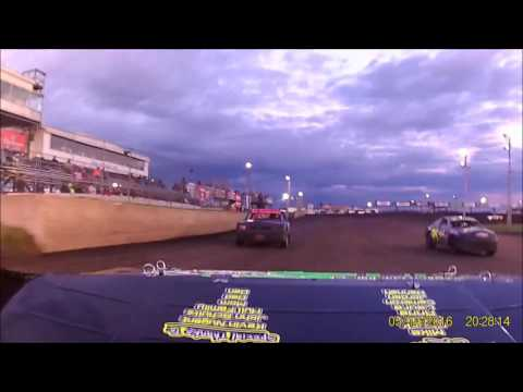 5-14-16 Boone Speedway Stock Car Heat rear view