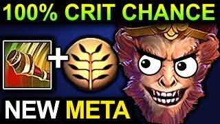 UNLIMITED CRIT MONKEY KING - DOTA 2 PATCH 7.07 NEW META PRO GAMEPLAY