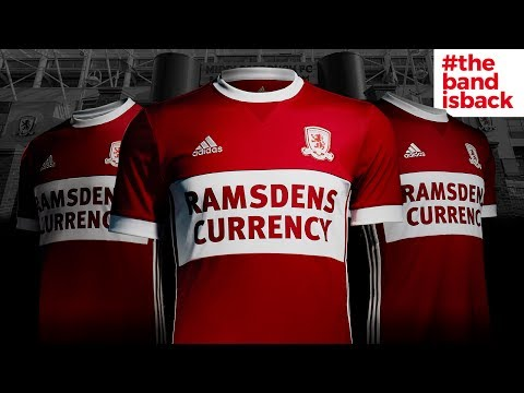 Boro's 2017/18 home kit launch at the Riverside
