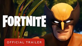 Fortnite - Wolverine Arrives Trailer