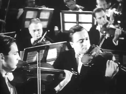 Bruno Walter conducts Weber: Oberon, Ouverture (rare video)