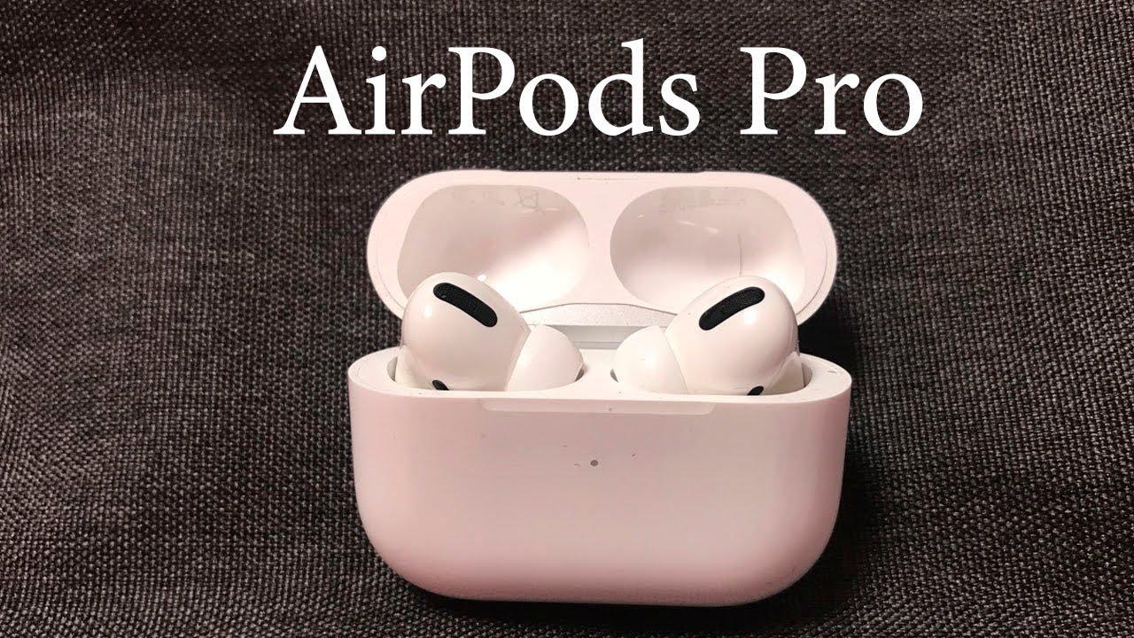 AirPods Pro Unboxing Einrichten