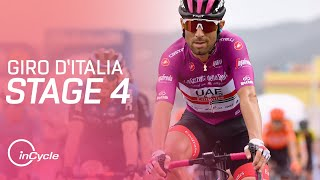 Full highlights of stage 4 the giro d'italia 2020.#giroditaliasubscribe for more from incycle: https://bit.ly/2lkmgfa