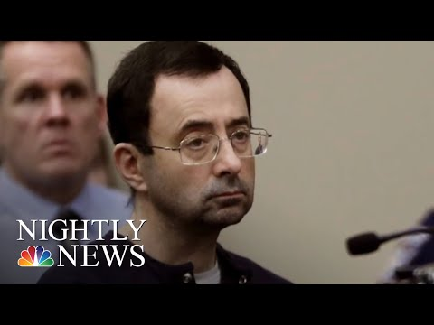 Michigan State University Reaches $500 Million Settlement With Nassar Victims | NBC Nightly News