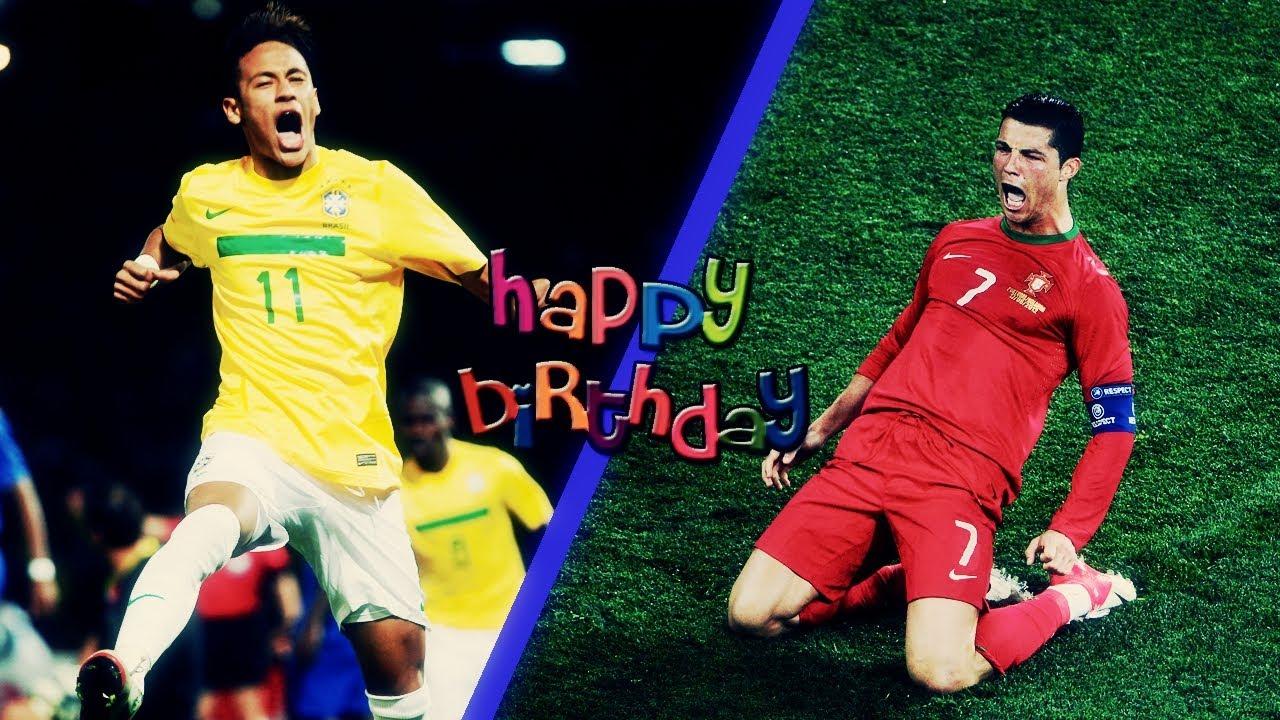 cristiano ronaldo amp neymar happy birthday 5 february