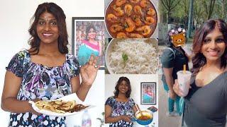 இறால் கறி/நான் என் திருநங்கை மகளுக்கு சமைத்தது/ Prawn curry / I cooked it for my Daughter