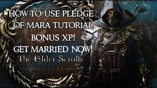 The Elder Scrolls Online: HOW TO USE PLEDGE OF MARA!!!