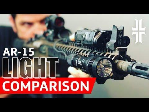 AR-15 Flashlight Comparison: Streamlight vs. Surefire