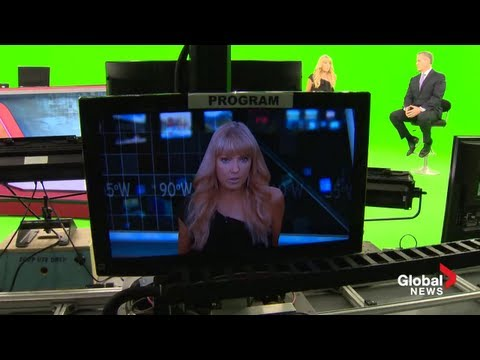 Behind the scenes guided tour of Global TV Toronto
