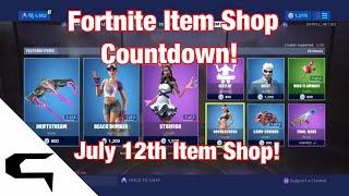 Don skins!! FORTNITE ITEM SHOP COUNTDOWN 12 juillet magasin d'objets Fortnite battle royale