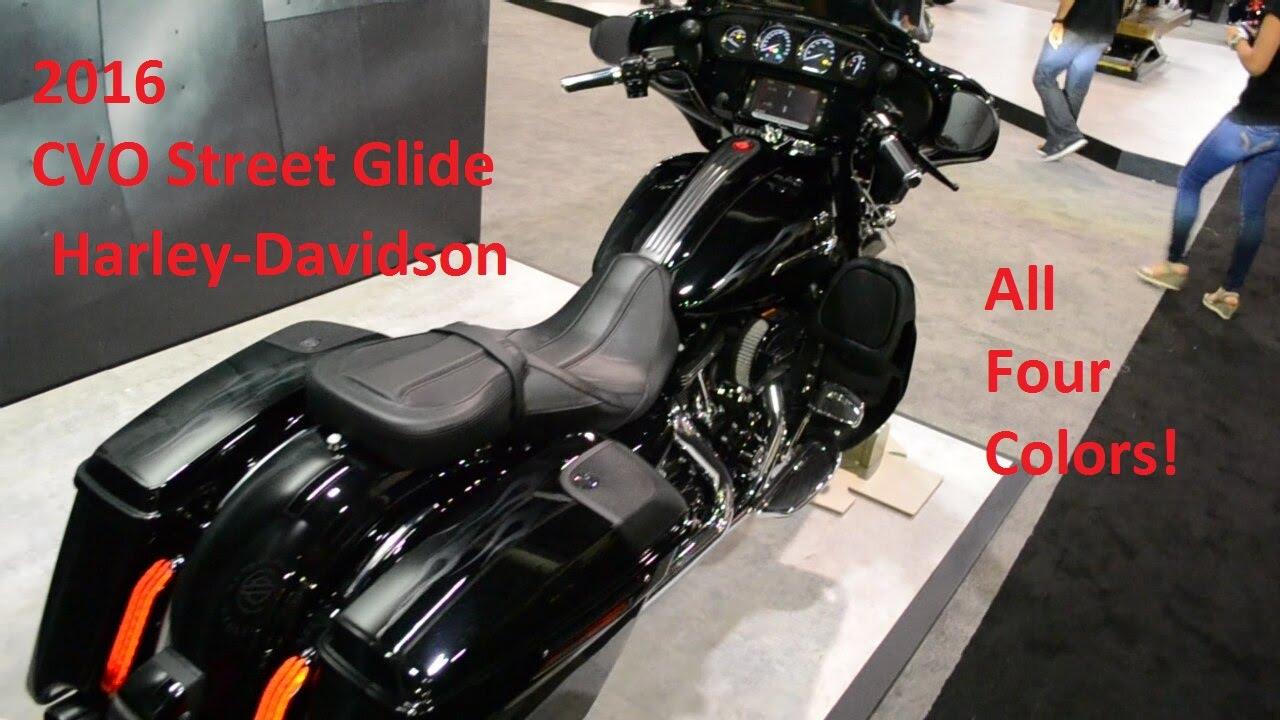 Harley Davidson 2016 Cvo Street Glide Flhxse