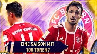 Schaffen wir 100 Tore in einer Saison? FIFA 18 FC Bayern Karrieremodus 🏆 25  Sumas