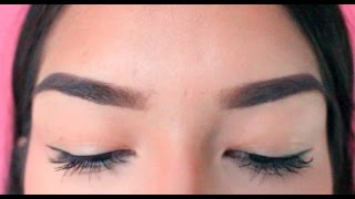 Updated Eyebrow Routine | Jessica Valadez