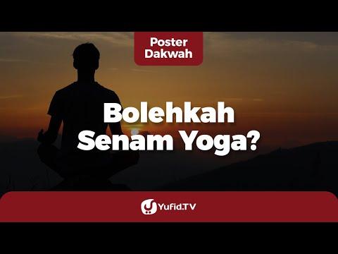Senam Yoga: Hukum Yoga Dalam Islam - Poster Dakwah Yufid TV