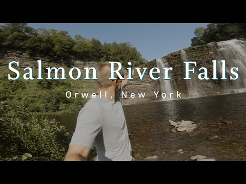 Salmon River Falls - 110ft New York State Waterfall