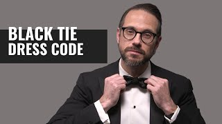 10 Black Tie Rules To ALWAYS Follow   Black Tie Event Dress Code Guide