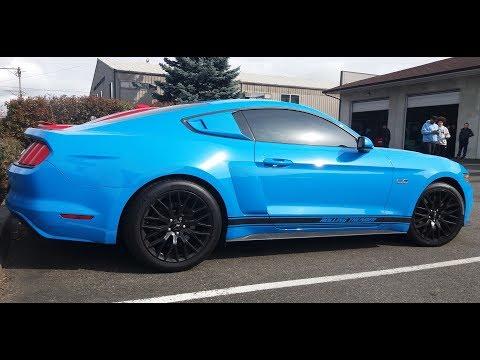 Ford Mustang GT . w/Corsa Exhaust Dyno Run