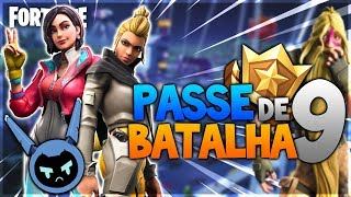 FORTNITE BATTLE PASS Season 9! THE FUTURE HAS ARRIVED!