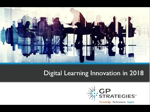 2018 Learning Trends | Digital Learning Innovation