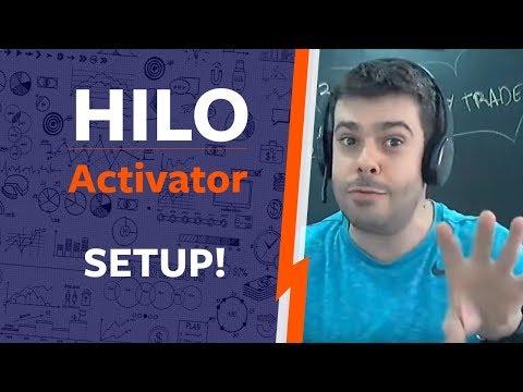 SETUP de Day Trade com Hilo Activator 🔴 venha aprender!