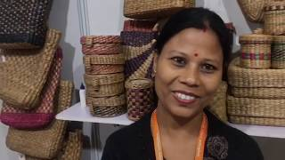 This self help group uses water hyacinth to make eco-friendly craft products thumbnail