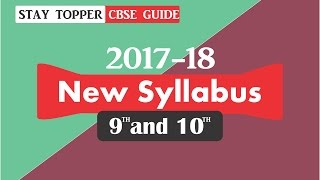 class 9 and 10 cbse new marking scheme for 2017 18 in hindi english