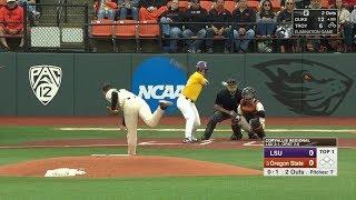 2018 NCAA Baseball Tournament Corvallis Regional Final LSU vs Oregon State 6 3 2018