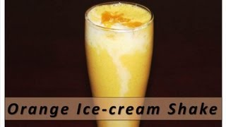 Orange Ice cream Shake with English subtitles