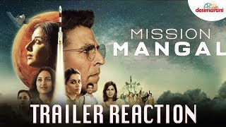 Mission Mangal Trailer Reaction | Akshay | Vidya | Sonakshi | Taapsee