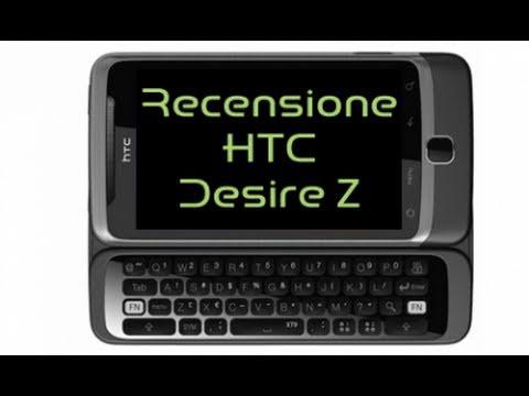 HTC Desire Z, recensione in Italiano by Androidworld.it