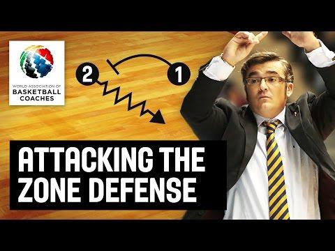 Attacking the zone defense - Paco Garcia - Basketball Fundamentals