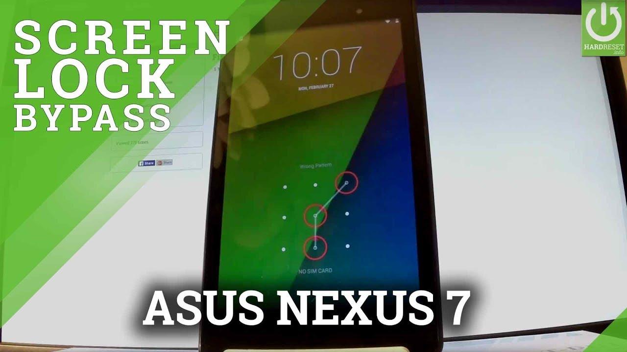 Hard Reset ASUS Nexus 7 - HardReset info