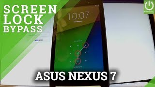 How to Hard Reset ASUS Nexus 7 - Bypass Pattern / Resetore Settings