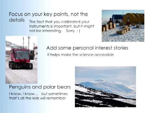 Make Broader Impacts in Polar Science - 17 September 2012