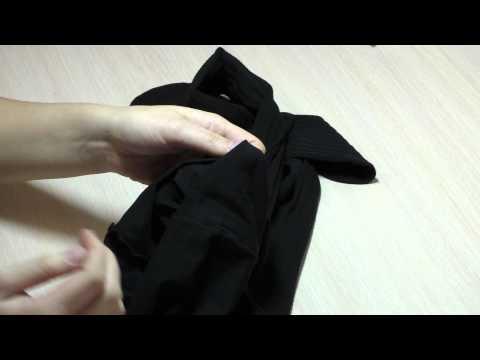 Распаковка женских черных капроновых колготок