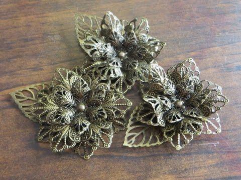 Full Metal Star flower tutorial