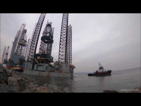 Moving an offshore rig for Paragon
