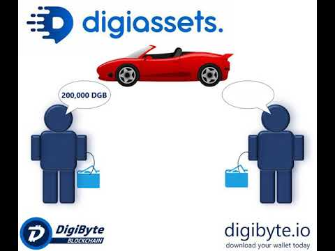 DigiByte Blockchain – Buying a car in under 20 seconds? You will in the future with DigiAssets.
