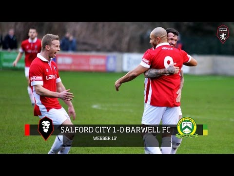 Danny Webber's scores a direct free-kick against Barwell FC