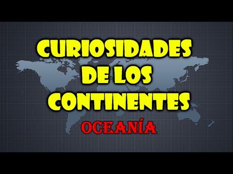 Curiosidades de los Continentes: Oceanía