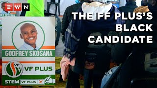 Is the Freedom Front Plus, a pro-white Afrikaner political party, finally attracting black supporters? We follow the story of one of its candidates in Limpopo, Godfrey Skosana. He is 29, black and asking South Africans to abandon identity politics for the sake of service delivery.
