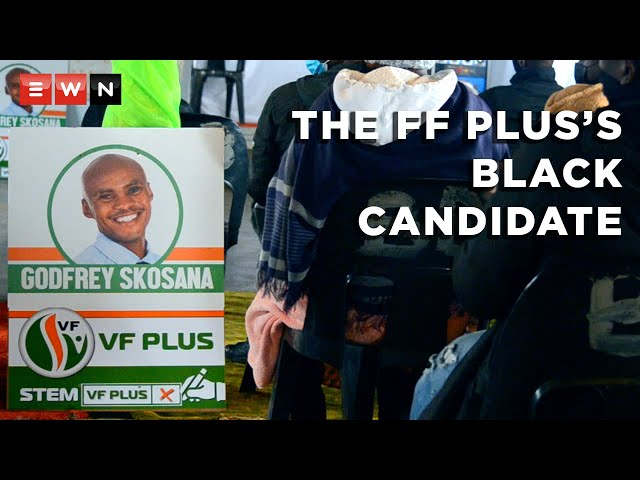 Godfrey Skosana: The Freedom Front Plus's black councillor candidate - Eyewitness News