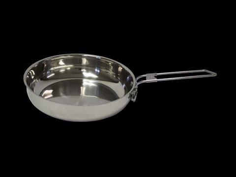 seasoning a stainless steel pan youtube. Black Bedroom Furniture Sets. Home Design Ideas