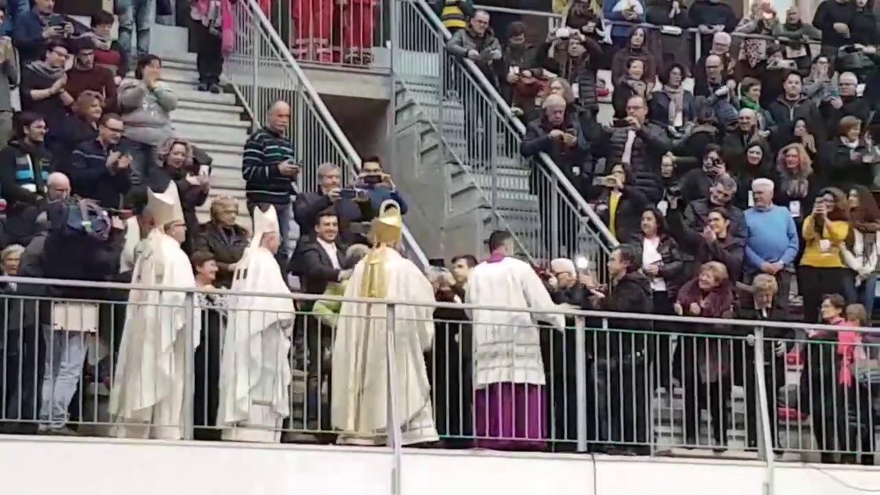 Il saluto di Sua Eccellenza Don Leonardo alla diocesi Trani Barletta Bisceglie