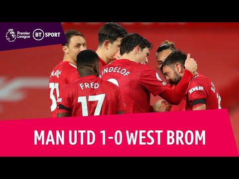 Man Utd vs West Brom (1-0) | Premier League highlights