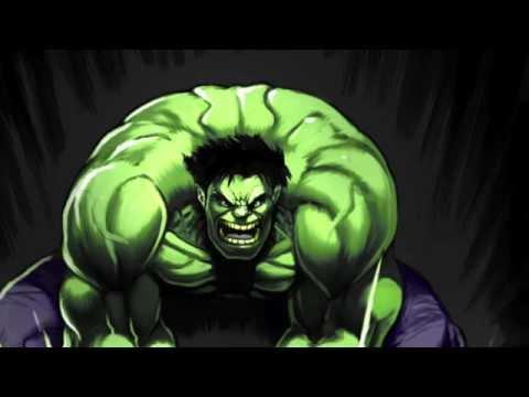 hulk smash/ The Incredible hulk theme Lonely man Remix