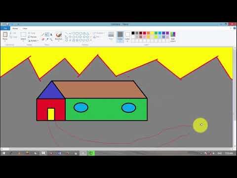 MS PAINT Create A Beautiful Home