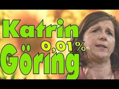 Karin Göring Eckardt : 0,01% - Eine Erfolgsgeschichte - Die Grünen  - Satire