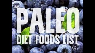Paleo Diet Foods - List of Paleo Foods