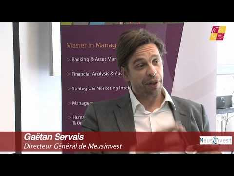 Business ITV - Meusinvest Director Gaëtan Servais about Walloon economy